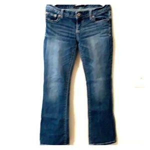 Express Stella Lowrise Bootcut Jeans